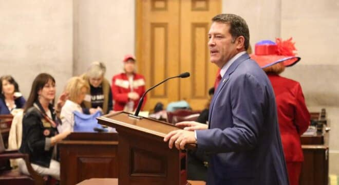 Tennessee Republican Mark Green was nominated on April 7 and withdrew his name on May 5 after a brewing political storm threatened his confirmation (Photo: Dr. Mark Green/Facebook)
