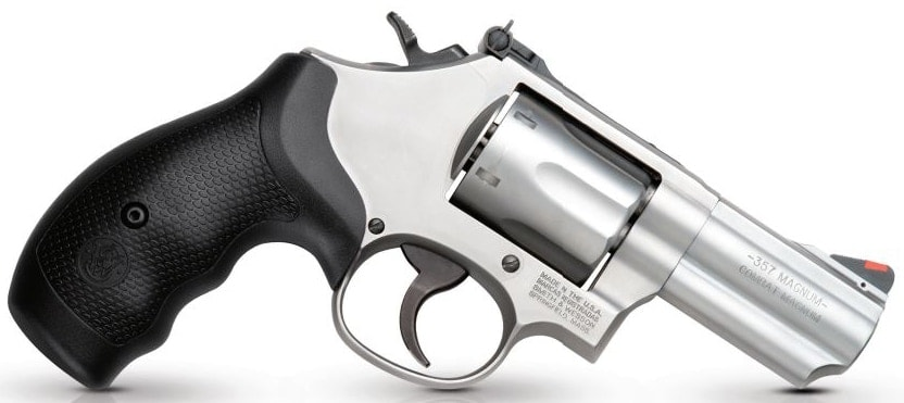 The Model 66 Compact Magnum Revolver chambered in .357.(Photo: Smith & Wesson)