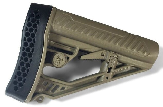 The EX Performance Stock is now available in the ever popular flat dark earth variation. (Photo: Adaptive Tactical)