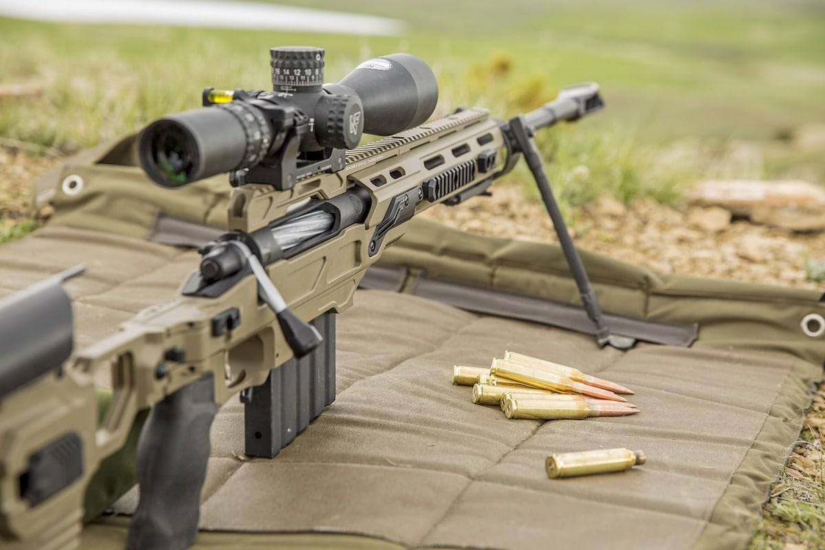 The gun is topped with a Nightforce ATACR optic.(Photo: Gunwerks)