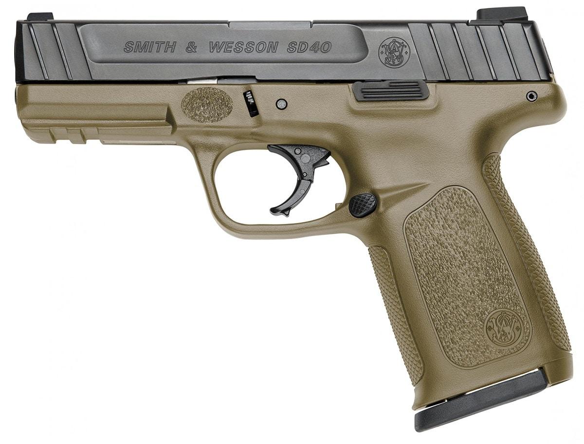 The Self Defense model in FDE. (Photo: Smith & Wesson)