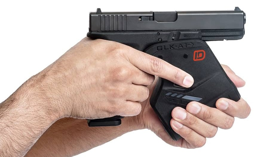 The Identilock is a biometic gun lock. (Photo: Sentinel, Inc. via Facebook)
