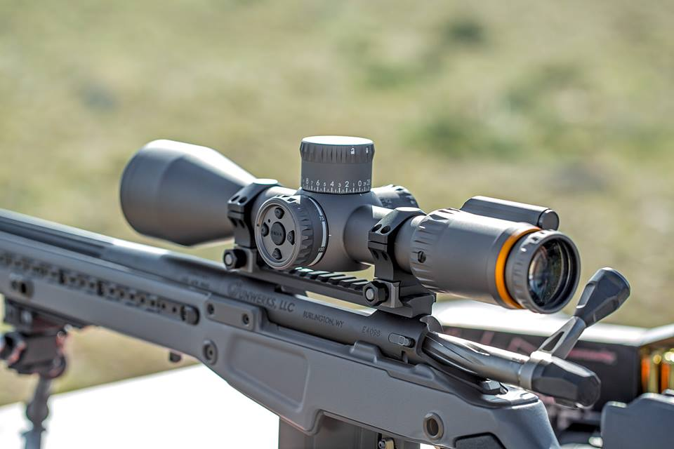 The PMR 248 boasts integrated Bluetooth technology to help shooters upload ballistic data. (Photo: Revic Optics)