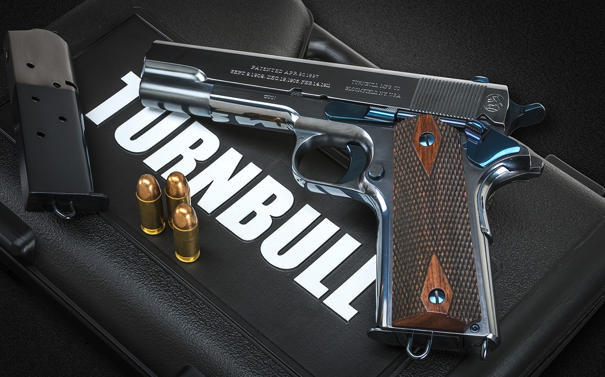 The Commercial 1911 boasts the original style design from 1912. (Photo: Turnbull Retoration)