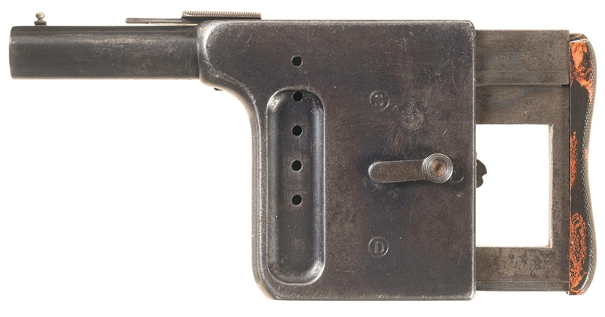 The Gaulois pistol is one of several antique guns set to be auctioned off on June 22. (Photo: Rock Island Auction Company)