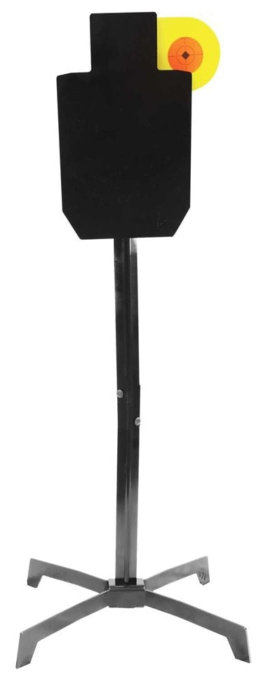 The Silhouette Hostage Paddle Target was designed to put shooters' skills to the test. (Photo: Birchwood Casey)
