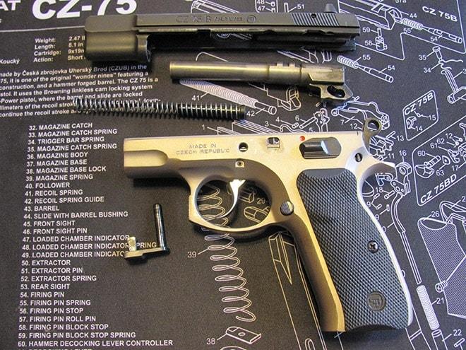 Gun Review - CZ-75B Semi-Automatic Handgun in 9mm :: Guns com
