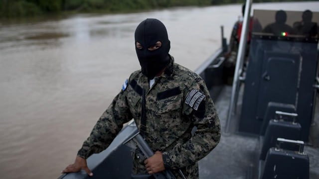 In this May 21, 2012, file photo, Honduran Navy officers patrol in Patuca river, near Ahuas, a remote community in La Mosquitia region, Honduras. The U.S. Drug Enforcement Administration misled the public, Congress and Justice Department officials about an aggressive strategy that led to a series of deadly confrontations involving agents in Honduras, government watchdogs wrote in a scathing report released May 24, 2017. The offensive, known as Operation Anvil, involved U.S. State Department helicopters and a special team of DEA agents working with Honduran security forces to stop planes carrying cocaine into the country. The report found sweeping problems with the DEA's response to three violent encounters associated with the effort in 2012, including a May 11 raid that killed four people and wounded four others, whom locals said were innocent civilians traveling the river near the village of Ahuas at night. (Photo: AP Photo file)