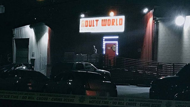 adult store shooting