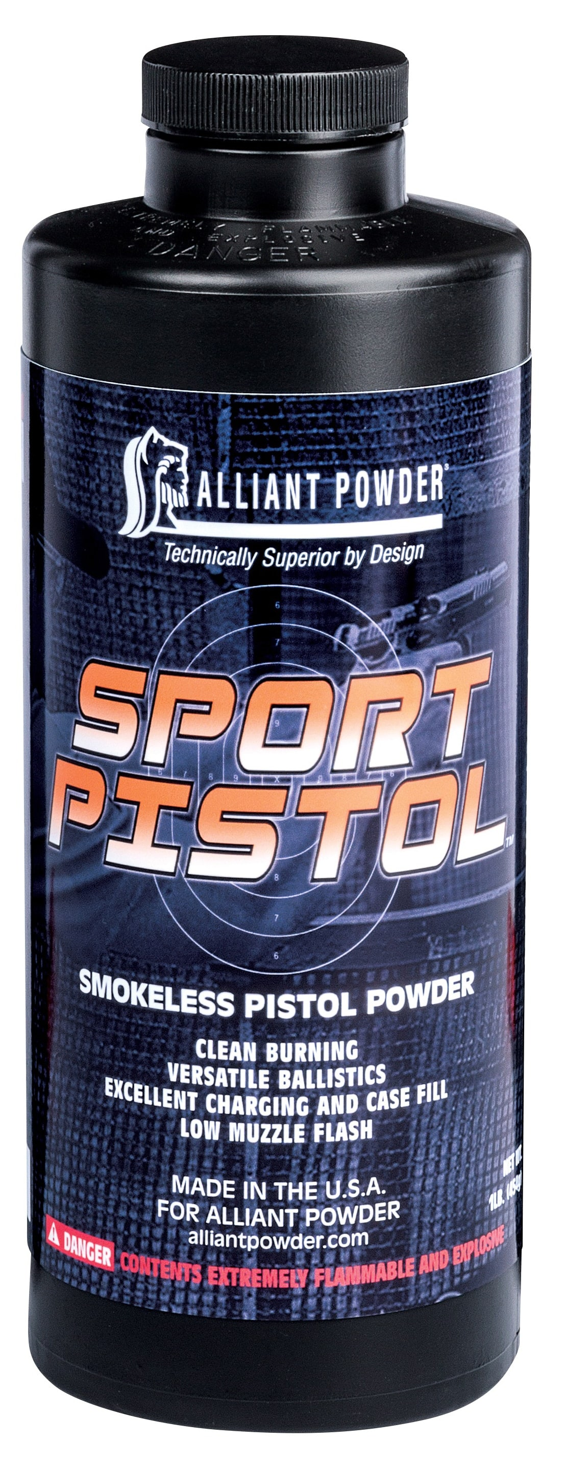 Alliant Powder offers the Sport Pistol Powder to precision handgun and action shooters. (Photo: Alliant Powder)