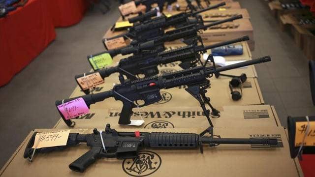 Kansas school guns