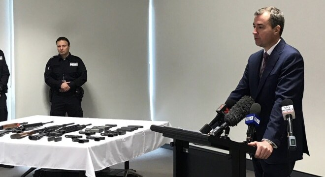 Australia's Minister for Justice, Michael Keenan of the Liberal Party, is encouraging those with heirlooms guns they are looking to get rid of to bring them in to police (Photo: Parliament of Australia)