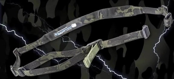 MultiCam Black joins Blue Force Gear's Custom Sling Builder lineup. (Photo: Blue Force Gear)