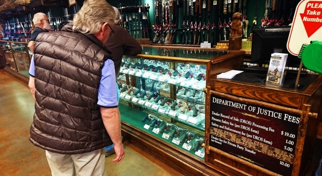 The California Department of Justice collects a mandatory DROS fee on each gun sold, a portion of which pays for a program to collect firearms from those no longer legally able to have them. (Photo: la6nca.net)