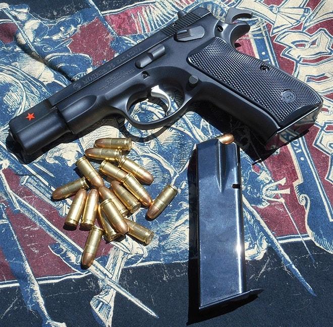 Gun Review: CZ-75B Cold War Commemorative handgun in 9×19mm
