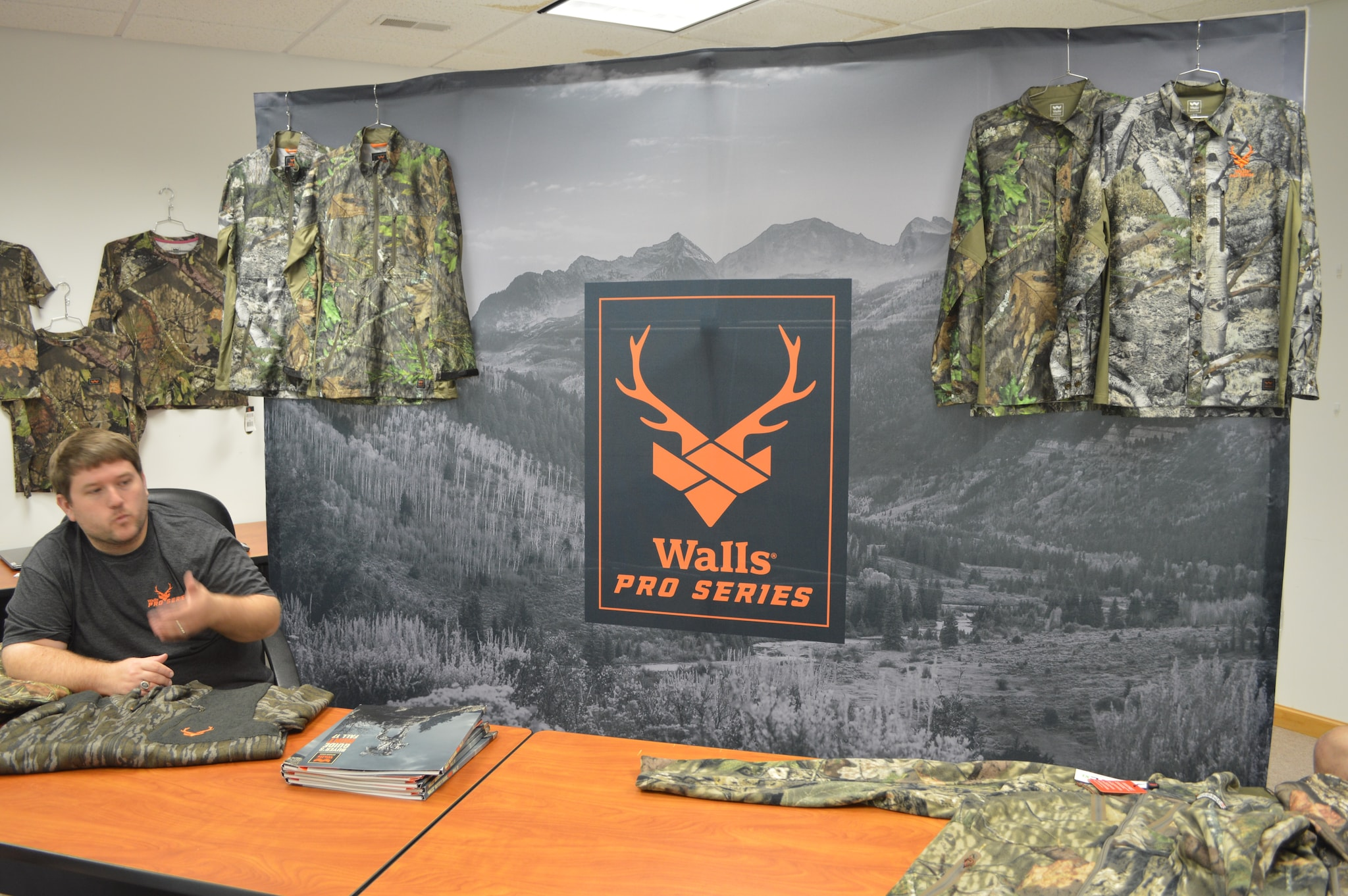The company once branded as 10X hunting apparel, is now branded as Walls. They offer a wide variety of hunting garments, with something for every season, and women's and childrens lines as well. (Photo: Kristin Alberts)