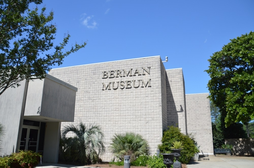 When in Anniston, find this building if you want to check out thousands of old guns, artifacts and relics from around the world. (Photos: Chris Eger/Guns.com)