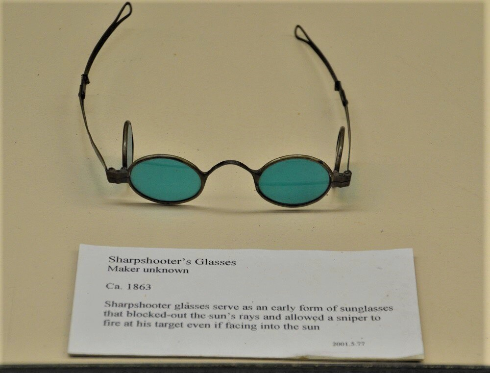 The best dressed marksman in the Civil War wore these