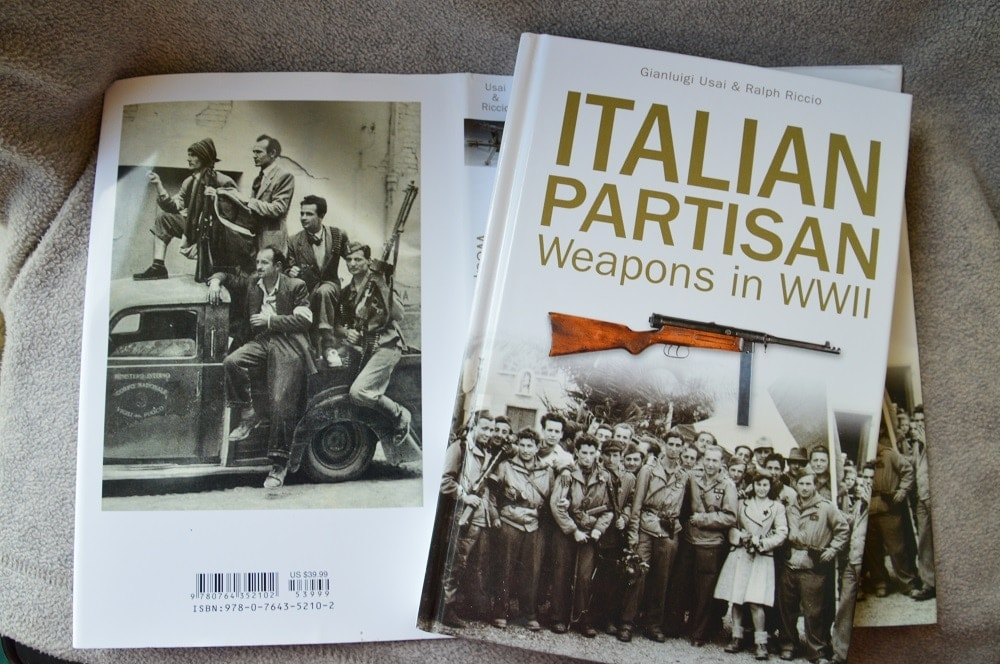 Usai's Italian Partisan Weapons in WWII was written in Italian from original sources and translated by Riccio, shedding a fresh light on a forgotten subject.