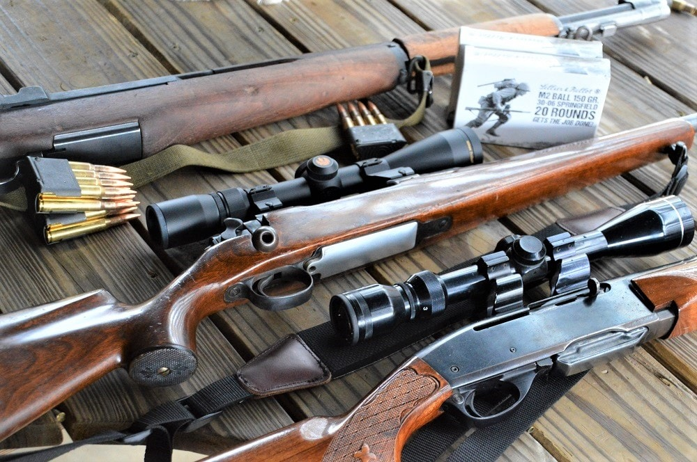 """We ran 92 rounds through a pair of Garands without issue, and also gave four shots apiece through two vintage """"aught-six"""" rifles who between them have accounted for a whole herd of deer over the past century."""