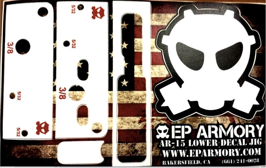 EP Armory's EP80-2 is accompanied with a special decal to deck out the lower. (Photo: EP Armory)