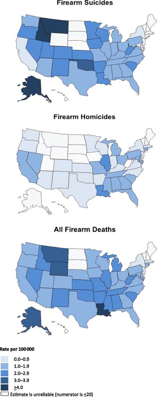 gun deaths in kids