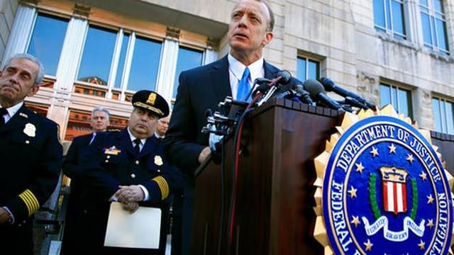 Timothy Slater, a FBI special agent-in-charge for the Washington Field Office, briefing the media Wednesday about the Bureau's investigation into the shooting at a Congressional baseball practice in Alexandria, Virginia. (Photo: Associated Press)