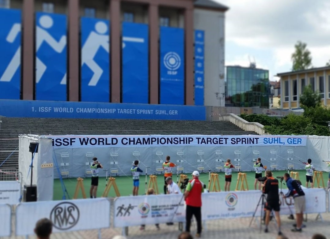 The ISSF held their first ever Target Sprint world championship last weekend. (Photo: J. G. Anschütz GmbH & Co. KG)