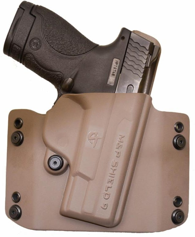 The Flatline holster is now available in dark tan. (Photo: Comp-Tac Victory)