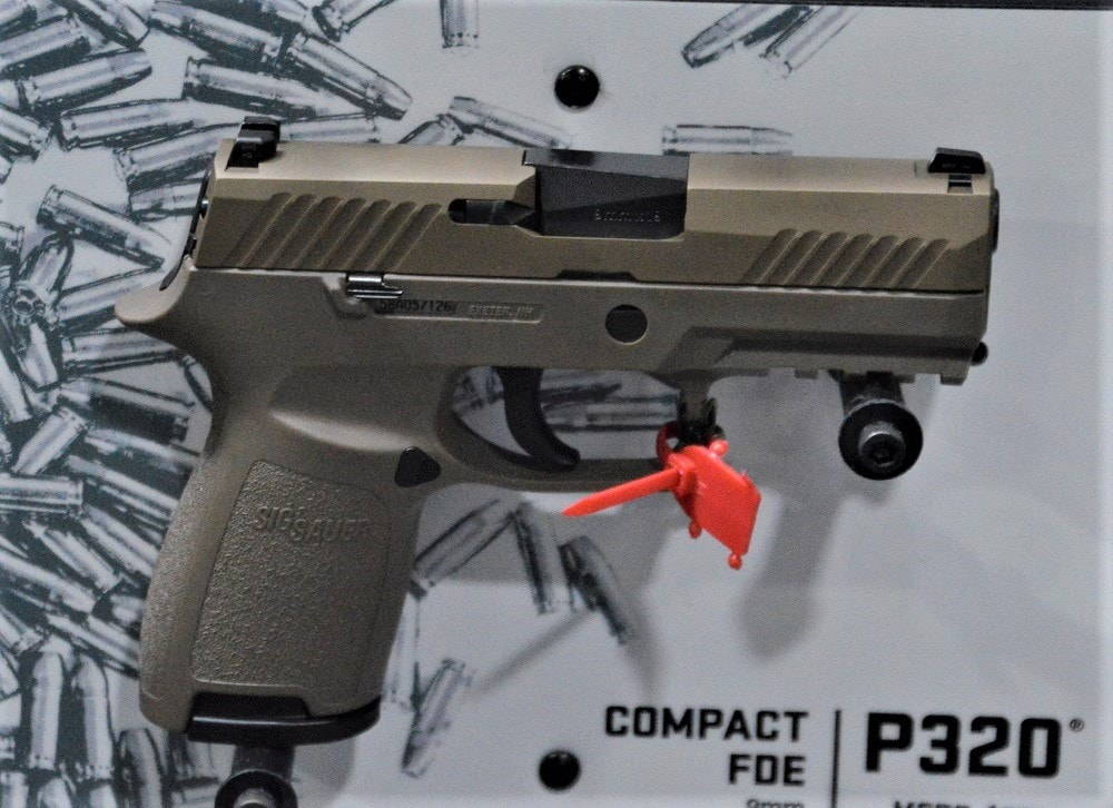 A version of Sig's P320 was chosen in January by the Army for the MHS contract, worth up to $580 million (Photo: Chris Eger/Guns.com)