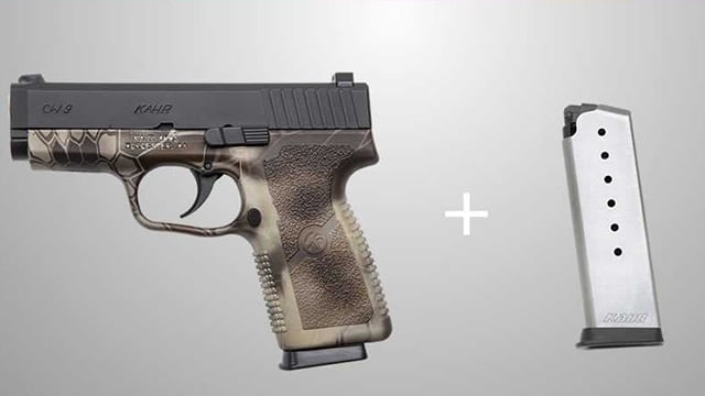 The magazine promotion runs from June until the end of September. (Photo: Kahr Arms)