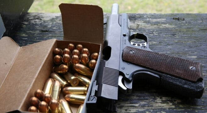 The measure is designed to speed up the now two-year saga of transferring a stockpile of surplus M1911 .45ACP handguns from Anniston Army Depot to the Civilian Marksmanship Program. (Photo: Department of Defense)