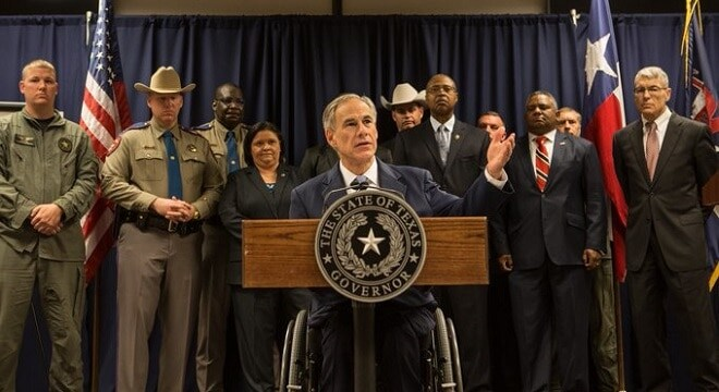 The measure, advocated after the attack on Dallas Police that left five officers dead last July, expands hate crime protections to law enforcement in the Lone Star State. (Photo: Gov. Abbotts office)