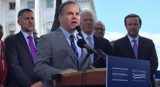 U.S. Rep. David N. Cicilline, along with U.S. Sen. Bob Casey, wants expanded gun prohibitions to those who have been convicted of minor hate crimes. (Photo: Rep. Cicilline's office)