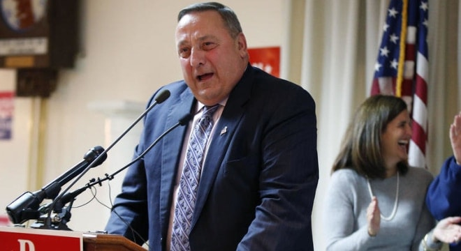 Gov. Paul LePage signed popular legislation this week that would make it illegal to keep a firearms registry in Maine. (Photo: Robert F. Bukaty/AP)