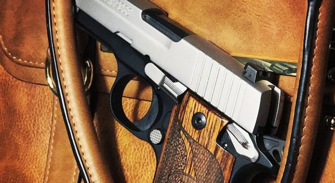 Backers proffer that concealed carry permits cover Second Amendment rights that do not disappear when crossing state lines (Photo: SIG)