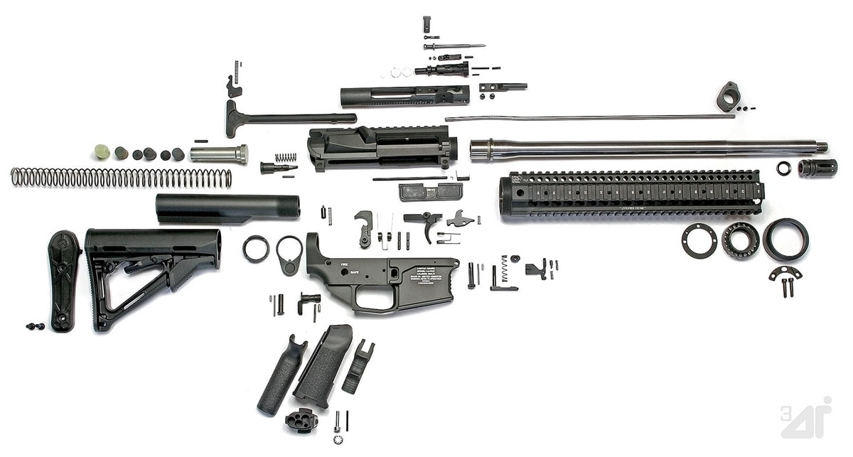 The AR-15's modular design allows consumers to swap parts and tailor the gun to suit specific goals. (Photo: Peninsula Guns and Tactical)