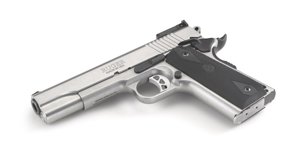 Ruger has introduced and is now shipping a 10mm Auto 1911 (Photo: Ruger)