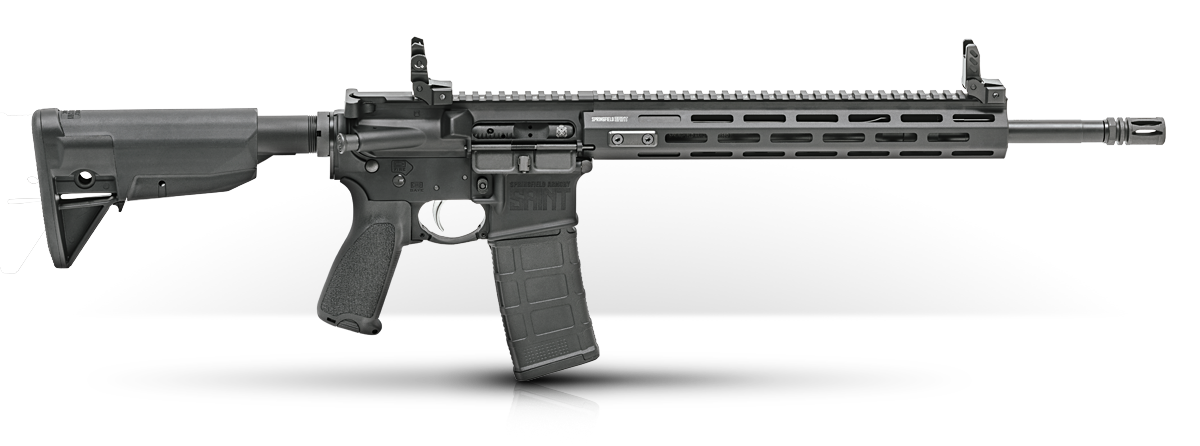 The newest Saint ditches the PKMT KeyMod handguards found on earlier models and goes M-Lok. (Photo: Springfield Armory)