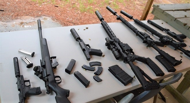 Currently, eight states ban National Firearms Act-compliant suppressors from civilian ownership and 10 prohibit their use in hunting, though this could soon change. (Photo: Chris Eger/Guns.com)