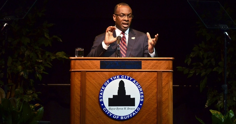 Buffalo Mayor Byron W. Brown. (Photo: Buffalo Rising)