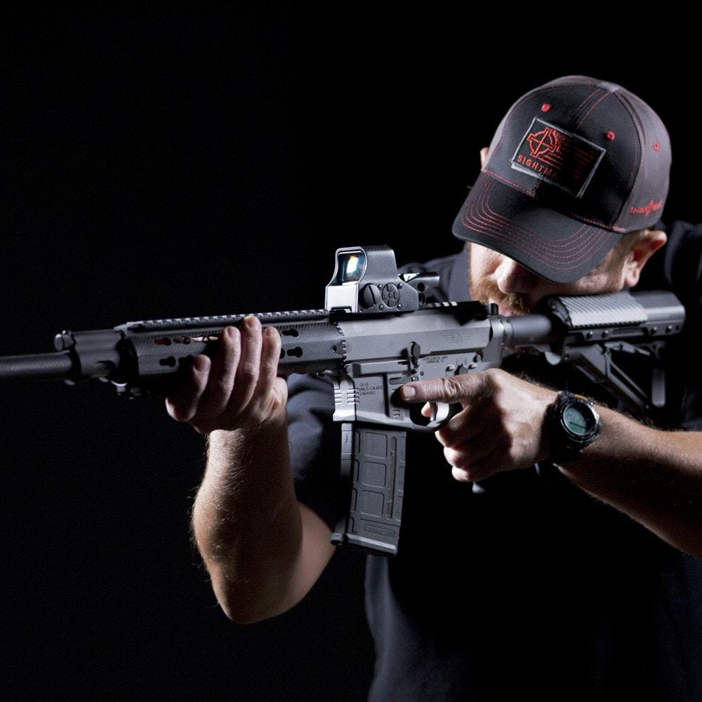 The Ultra Shot M-Spec Carbon Fiber sight is designed for the AR-15 and MSR platforms. (Photo: Sightmark)