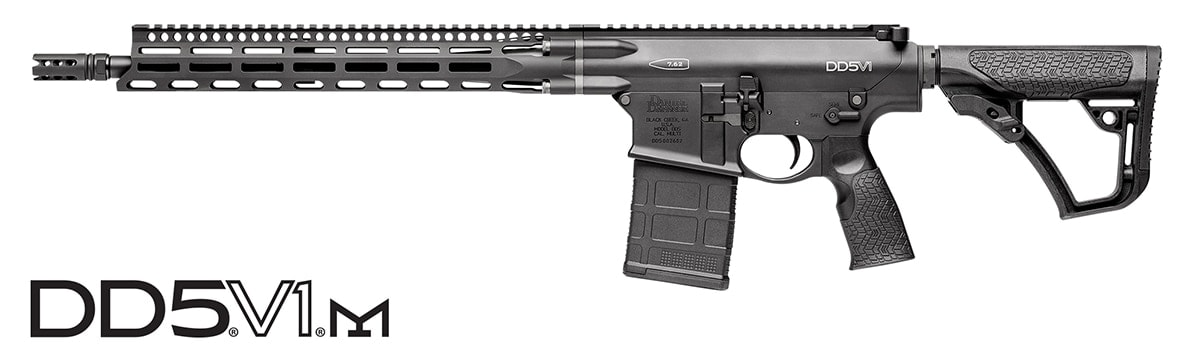 The DD5V1 and DD5V2 get a boost with the addition of M-LOK.(Photo: Daniel Defense)