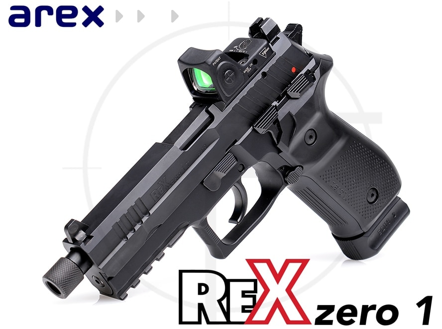 The Rex Zero 1T boasts a threaded barrel and the Rex Optics Ready system. (Photo: FIME Group)