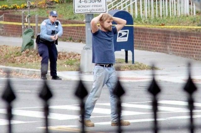 Pizzagate gunman Edgar Maddison Welch gave himself up to police in Waashington D.C. (Photo: AP)