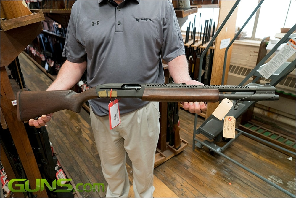 Remington 7188 fully automatic shotgun. (Photo: Ben Philippi)