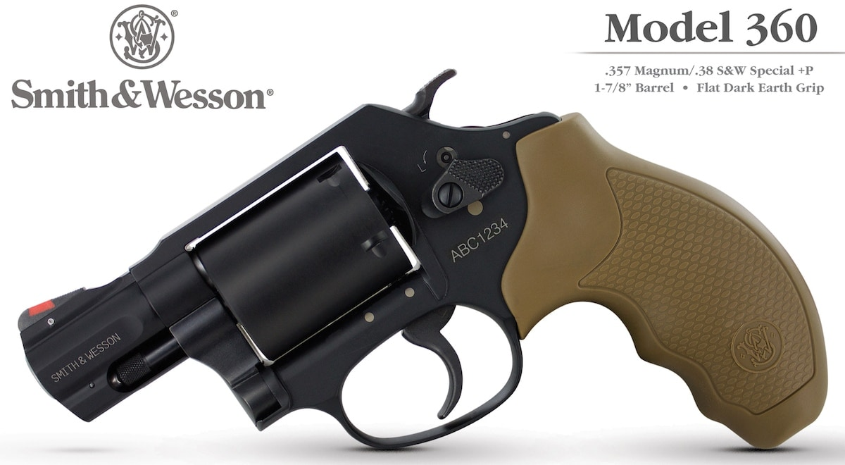 The Model 360 joins Smith & Wesson's J-frame family, expanding the company's revolver lineup. (Photo: Smith & Wesson)