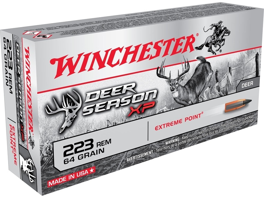 The Deer Season XP sees the addition of MSR platform rounds in .223 and 6.5 Creedmoor. (Photo: Winchester)