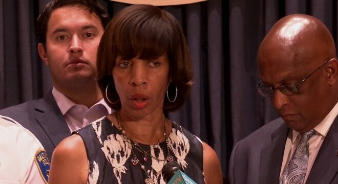 Baltimore Mayor Catherine Pugh and some city leaders are backing a measure to establish a mandatory minimum sentence for those found with handguns near Baltimore schools, parks and other public buildings, but are getting some push back. (Photo: mayor.baltimorecity.gov)