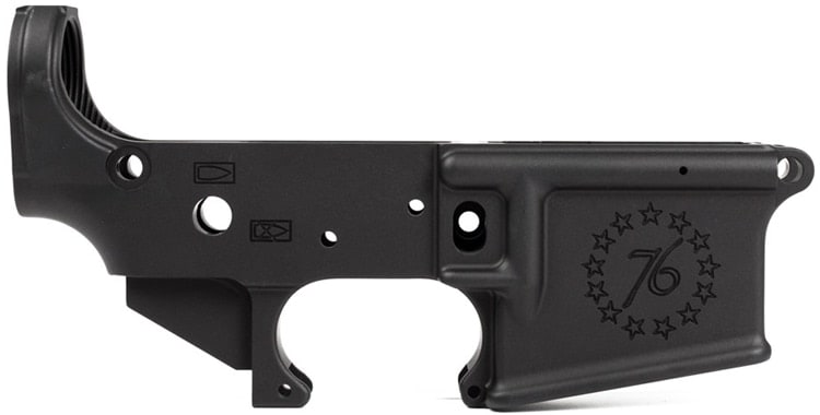 """An Aero """"Betsy Ross"""" lower receiver for an AR15. (Photo: Aero)"""